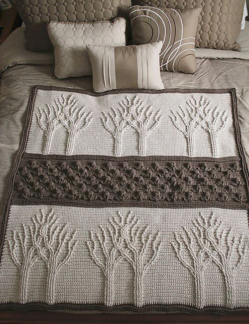 Tree of Life Afghan - Free Pattern