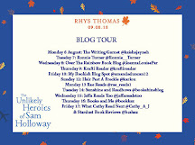 The Unlikely Heroics of Sam Holloway Blog Tour