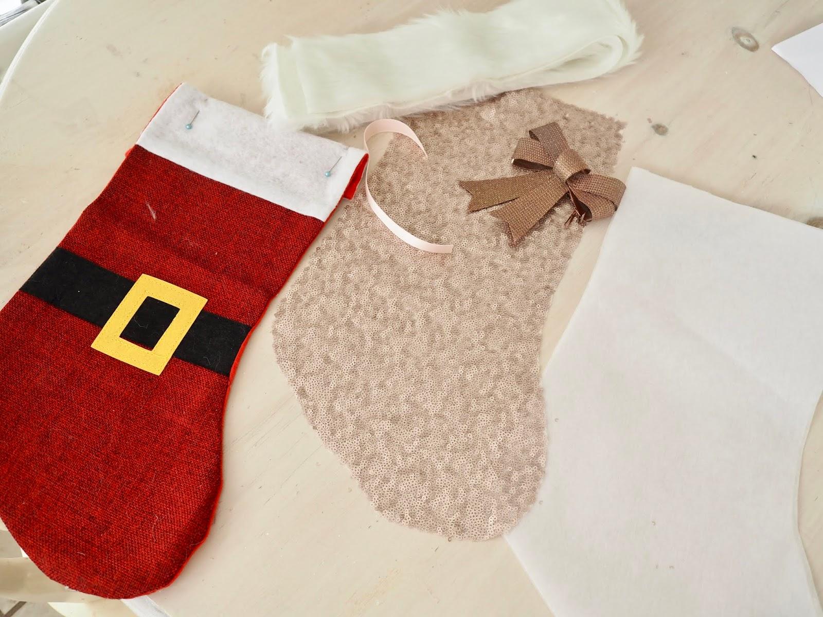 How to make Christmas Socks