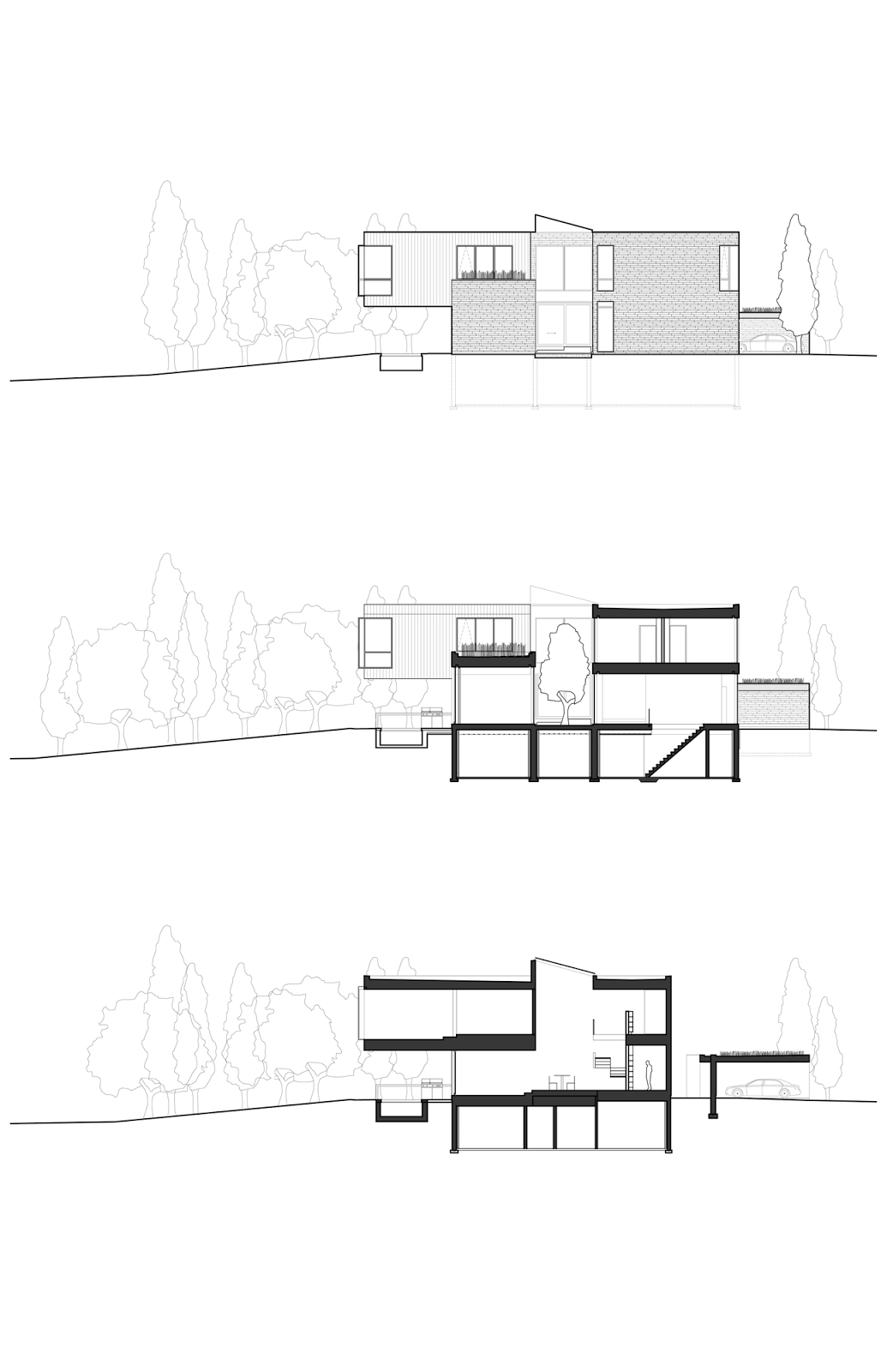 Cedarvale Ravine House Designed By Drew Mandel Architects: Looking For Ideas For Your Home: บ้านโมเดริน์ 2 ชั้นการ