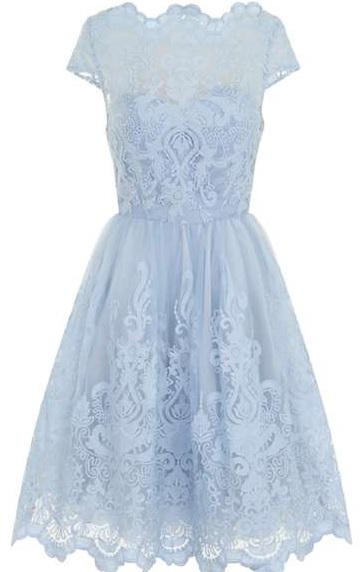 Chi Chi London Curve Sleeve Baroque Dress Dorothy Perkins
