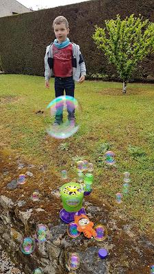 De superbes bulles