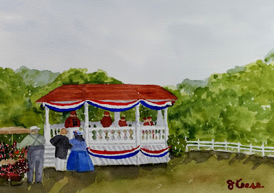 Willoughby Watercolor - JKeese