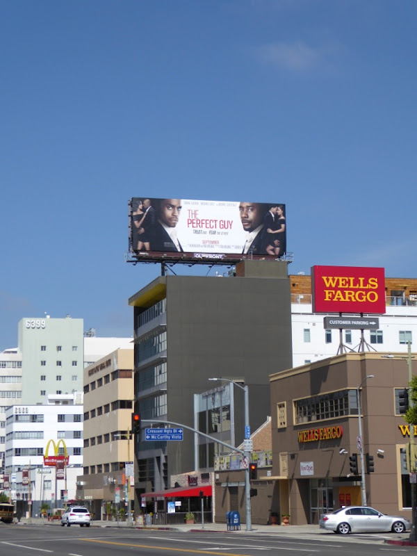 The Perfect Guy billboard