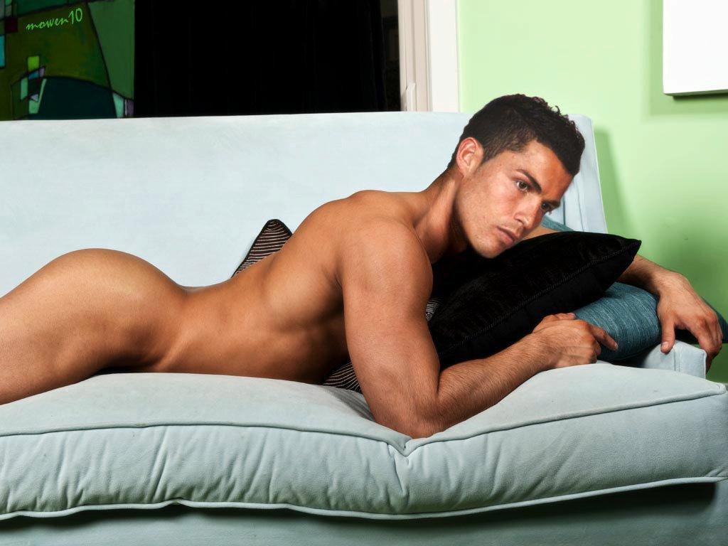 Wallpaper Cristiano Ronaldo Nude