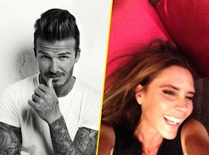 David Beckham takes back the reputation of his wife: You see, I told you she was smiling!