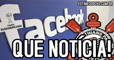 Corinthians transmissão Facebook e Youtube Sul-Americana