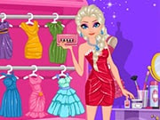 Have a great time playing this new Frozen game called Modern Elsa Prom Night on GamesGirlGames.com. The princess Elsa is preparing for Prom Night and she is looking to be the most beautiful girl of the party. She is at home now and you are the only one who can help her to shine. Choose the best clothes and items for a perfect suite.