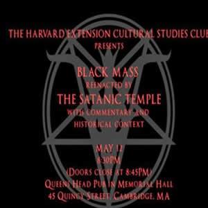 Misa Satanica en Harvard