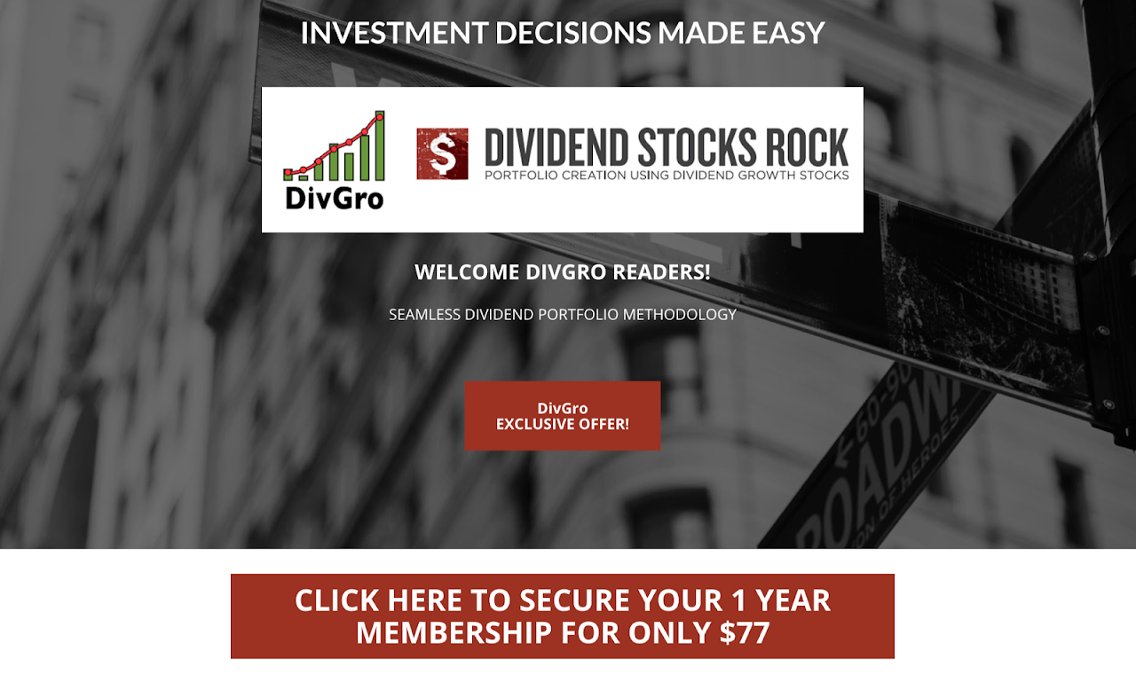 DivGro: A Special Offer from Dividend Stocks Rock