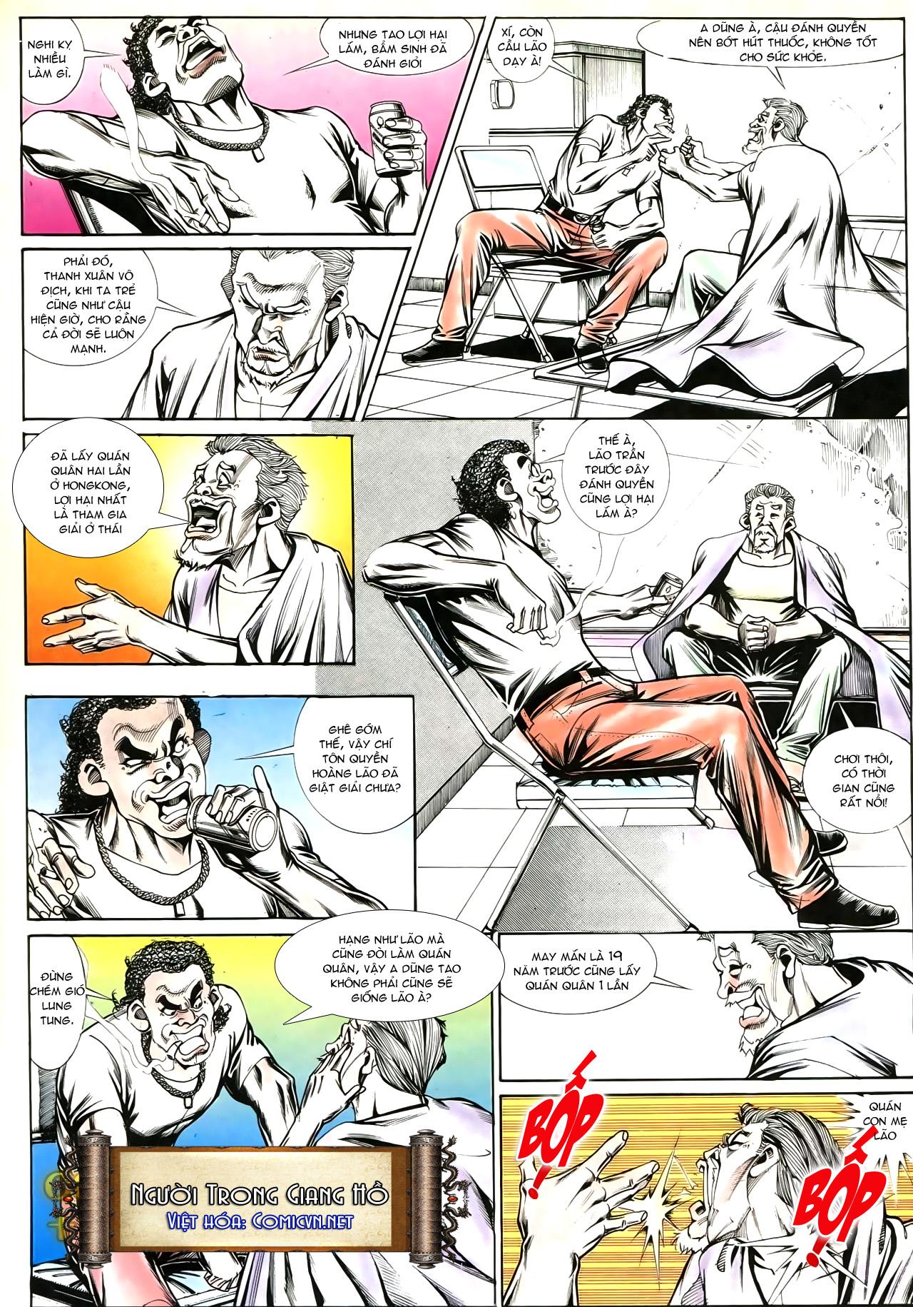 Người Trong Giang Hồ chapter 191: thiên thu tái hiện trang 28