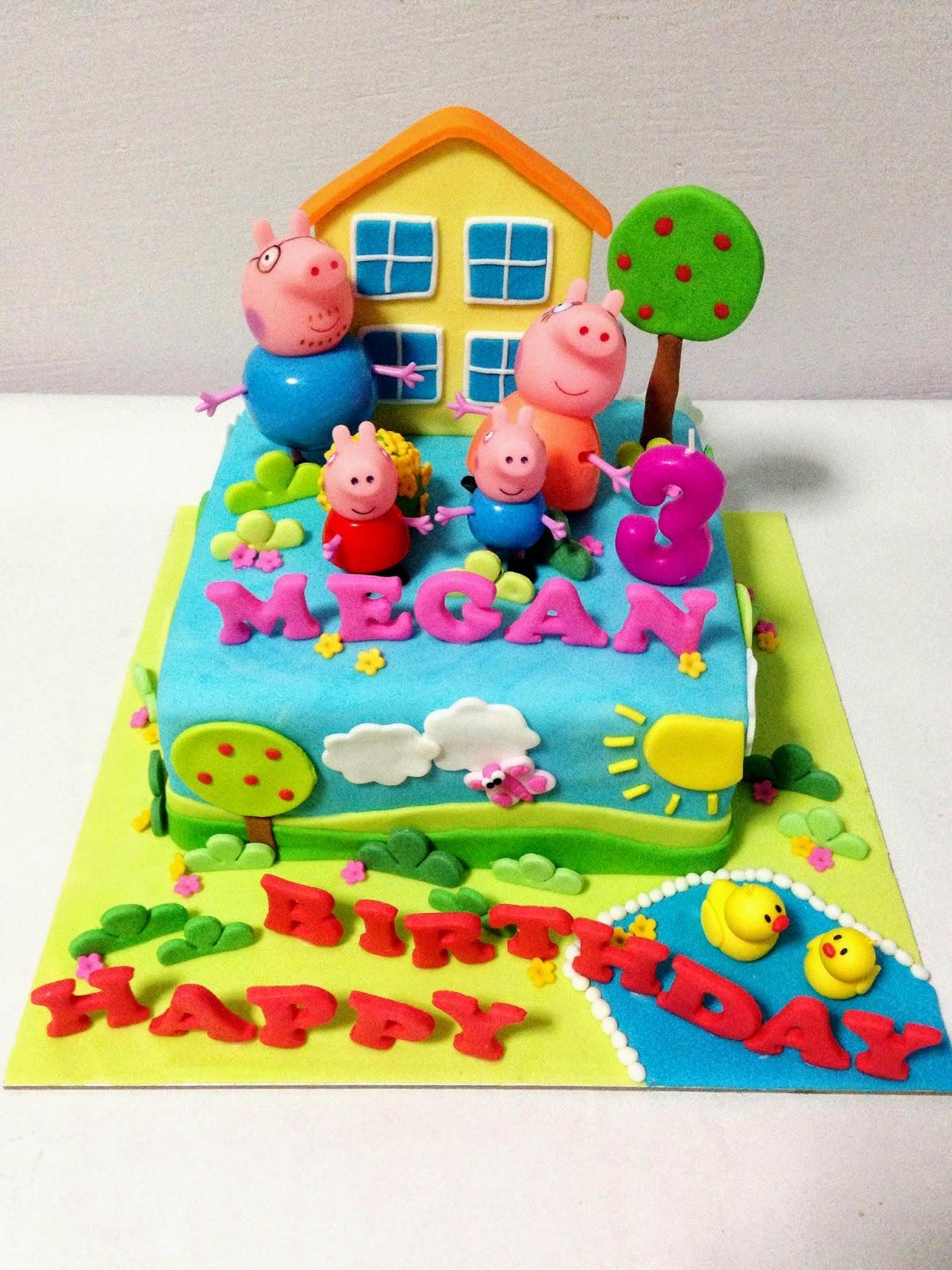 Oven Creations Happy 3rd Birthday Magan