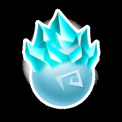 Appearance of Iceberg Dragon when egg