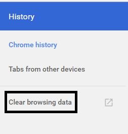 Cara Cepat Menghapus History Browser Google Chrome Pada Windows 7