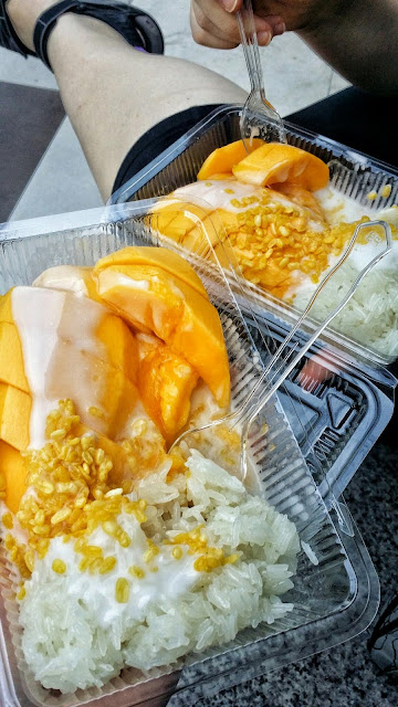Bangkok mango and rice