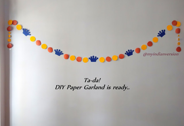 DIY Paper Garland Tutorial - Ready