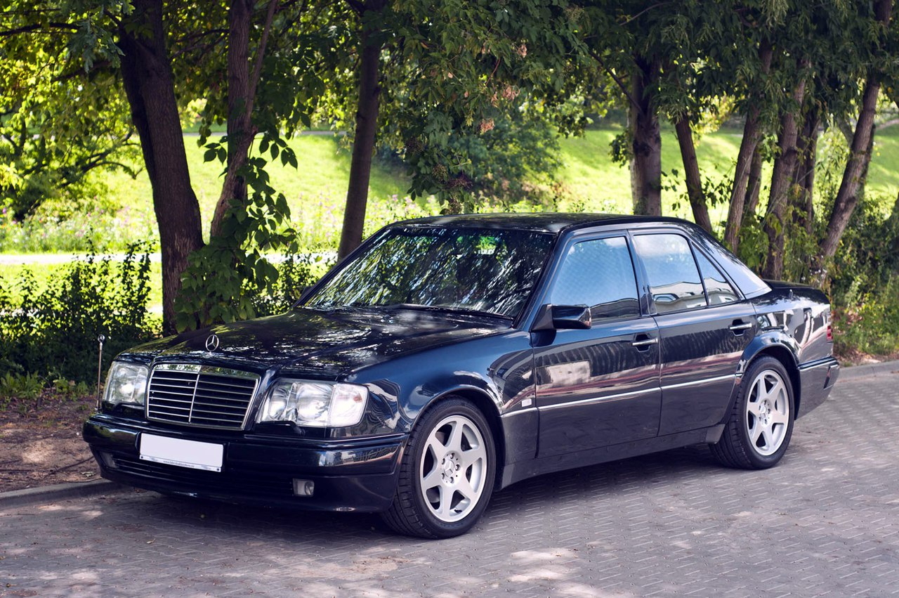 Benztuning 1994 mercedes benz w124 e500 limited edition for Mercedes benz limited edition