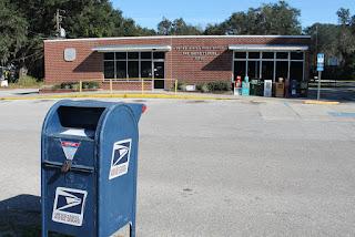 Oficina postal en San Mateo