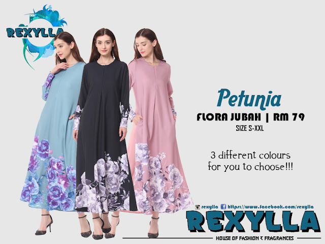 rexylla, flora jubah, petunia collection