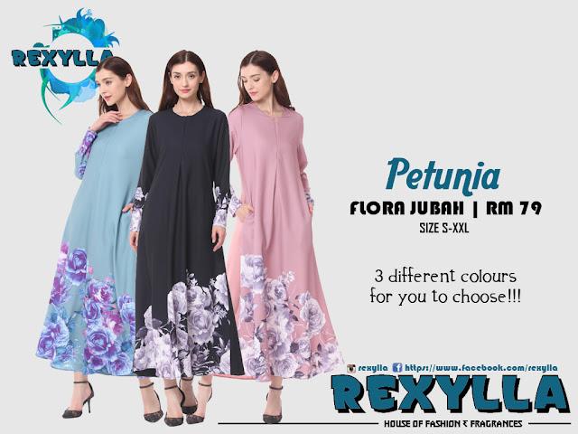 rexylla, flora jubah, petunia collection