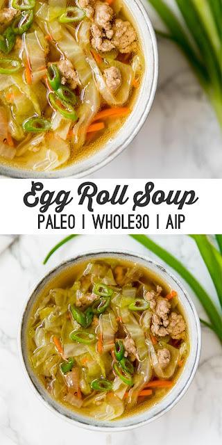 Delicious Paleo Egg Roll Soup Recipe