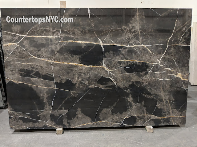 Bronze Fantasy polished marble slabs NYC