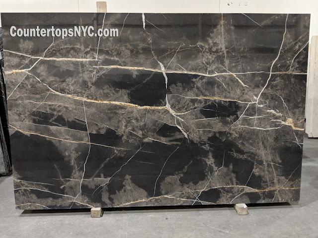 Bronze Fantasy polished marble slabs NYC