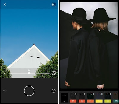 Tampilan Aplikasi VSCO Cam