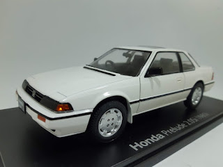 Hachette IXO 1:24 Cars Collection Vol.59 Honda Prelude 2.0Si 2nd 1985 Die-cast