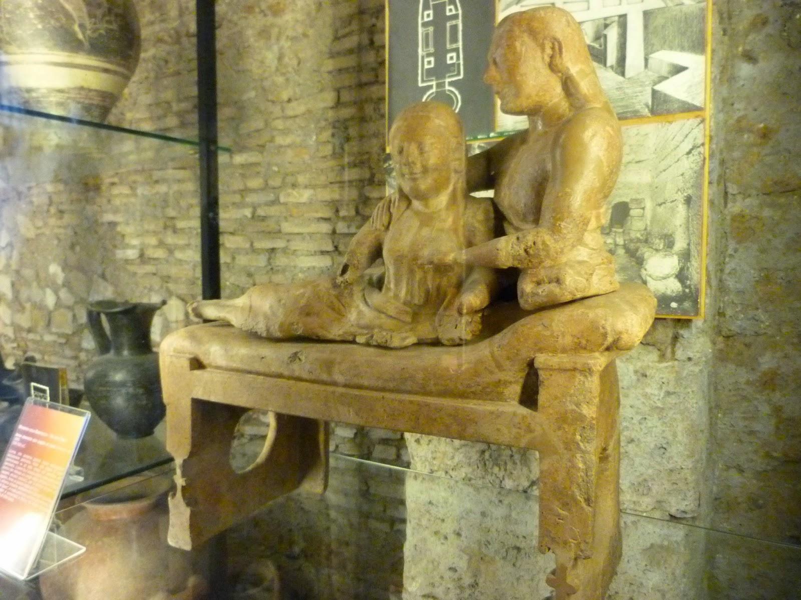 Sepultura etrusca, Museu Etrusco em Cerveteri