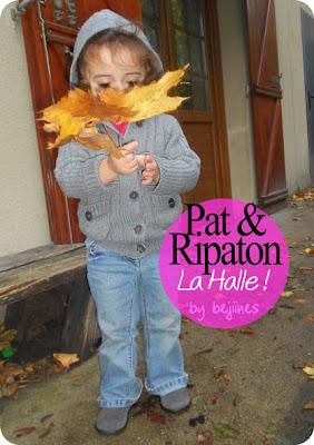 chaussures enfants La Halle Pat & Ripaton