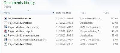 Membuat Koneksi Database Mini Market Dengan Module