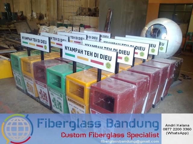 tempat sampah fiber murah