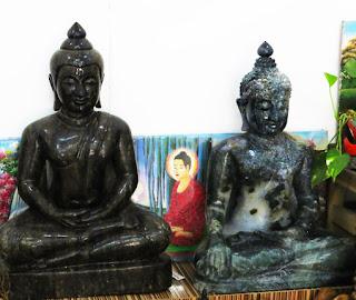 Mystic stone Buddha Sculpture
