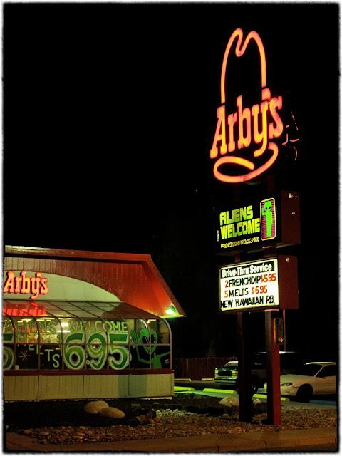 UFO restaurant, Roswell, USA