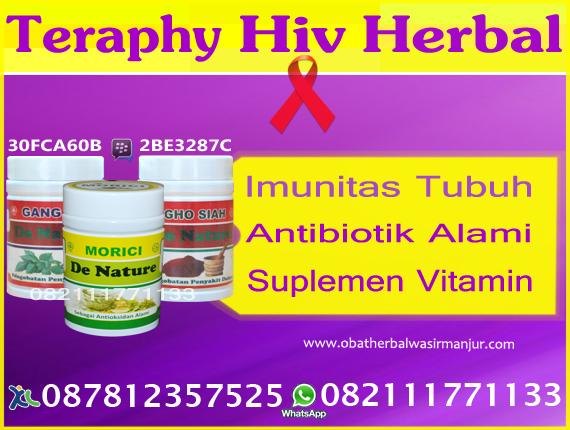 Obat HIV AIDS  Manjur Mujarab Herbal Alami Tanpa Efek Samping