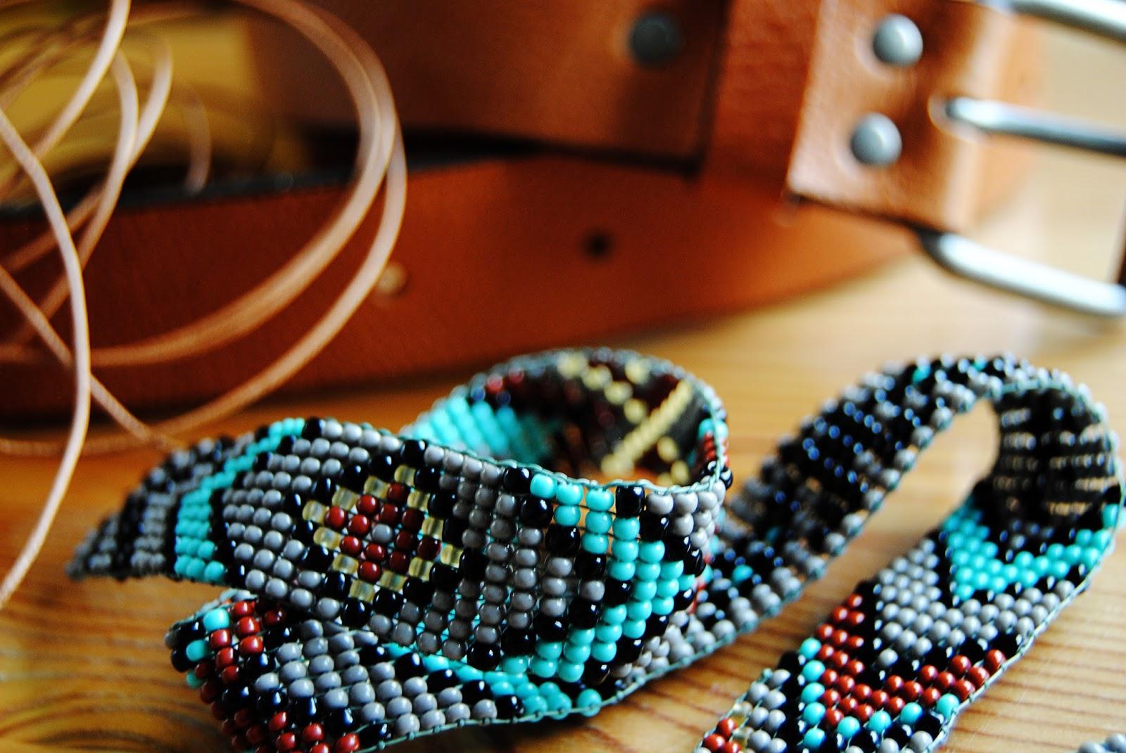 DIY Native American Belt Part 2 | Motte's Blog