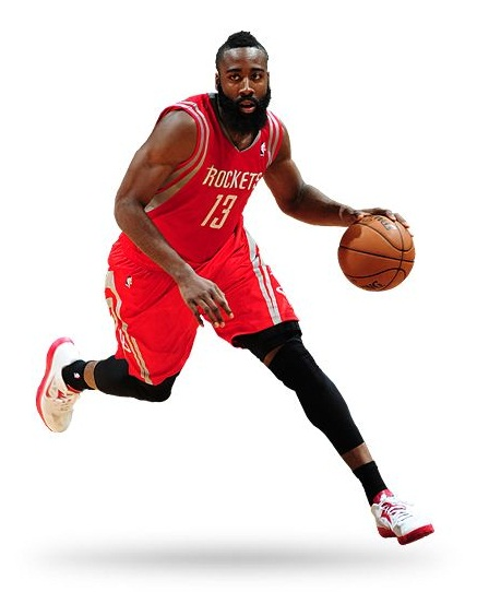 The Highest earning NBA players.JAMES HARDEN