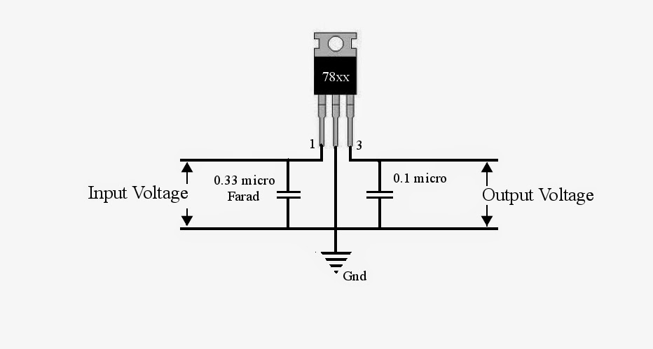 negative output voltage integrated voltage regulator circuit from