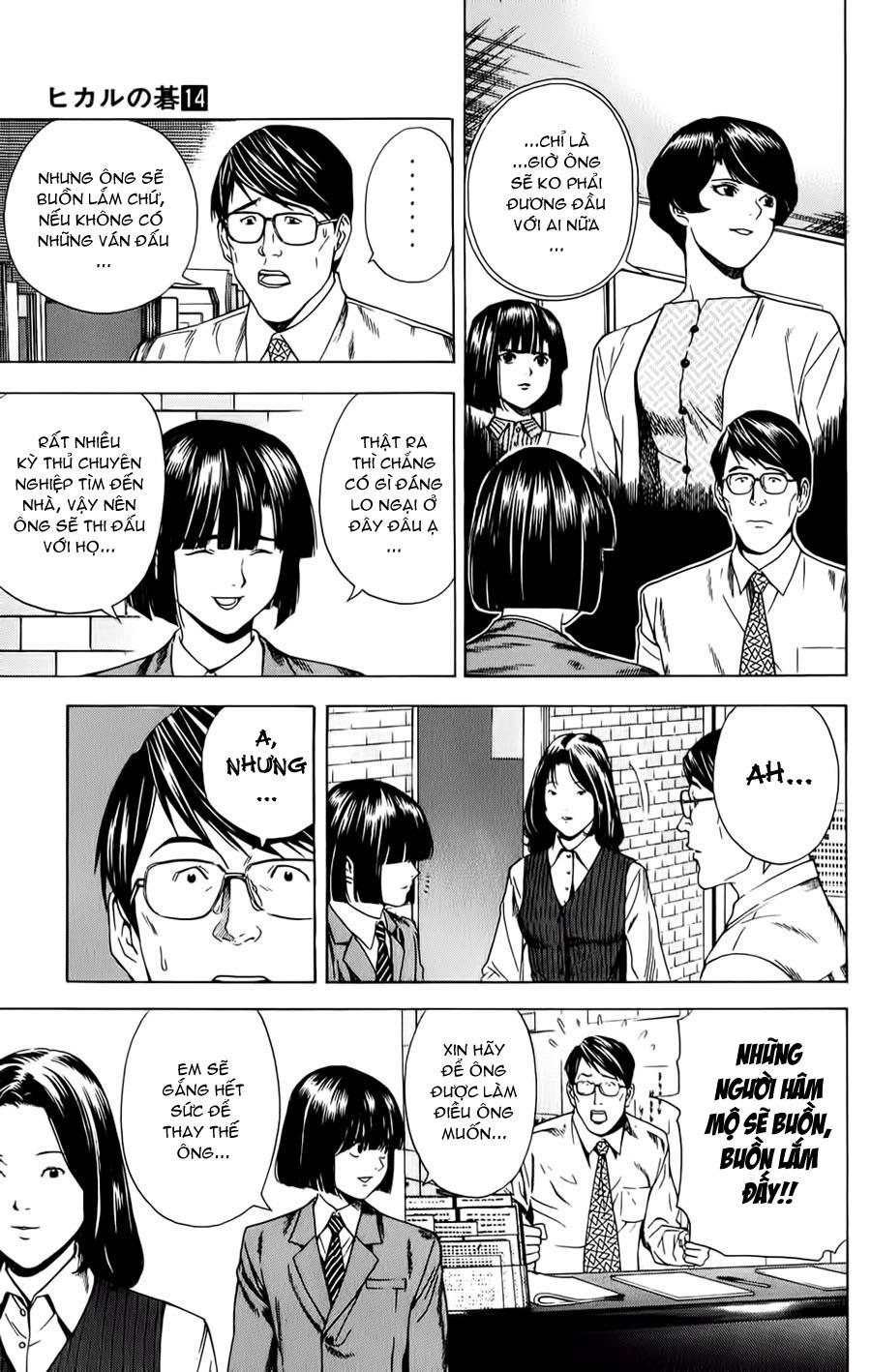 Hikaru No Go hikaru no go chap 121 trang 9