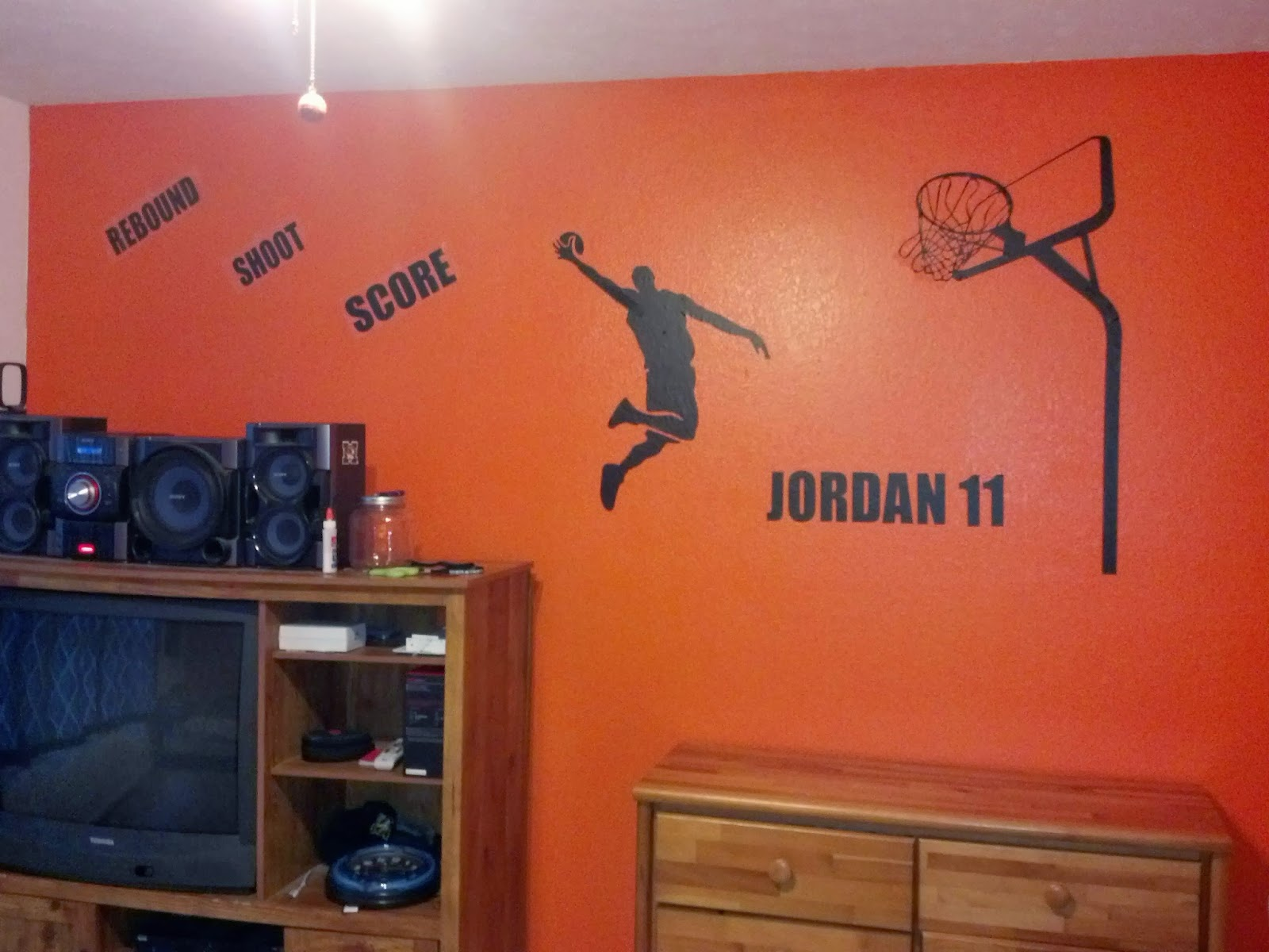 Najarian Nba Youth Bedroom In A Box: The Vinyl Express : Sports Decals