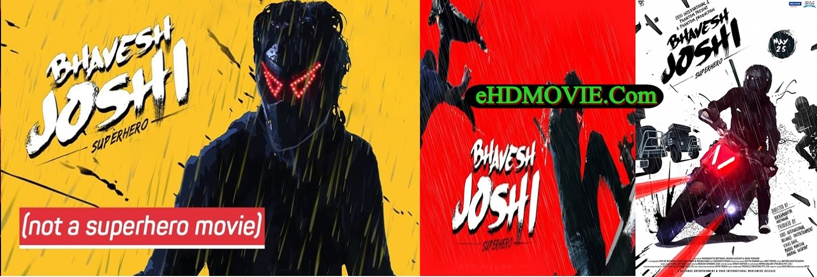 Bhavesh Joshi Superhero 2018 Full Movie Hindi 1080p - 720p - HEVC - 480p ORG WEB-DL 400MB - 700MB - 1.8GB - 2.1GB - 4.7GB ESubs Free Download