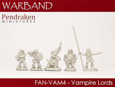 FAN-VAM4   5 x Vampire Lords
