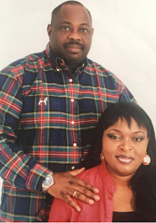 Dele Momodu and his wife