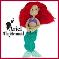 Sirenita Ariel amigurumi