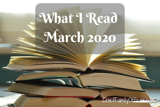 What I Read in March 2020