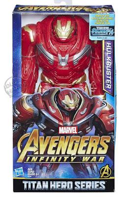 Toy Fair 2018 Hasbro Marvel Avengers Infinity War Titan Figure Hulkbuster