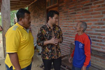 63 KK Warga Mlinjon Kekeringan, Bupati Emil Dardak Suplai Pasokan Air
