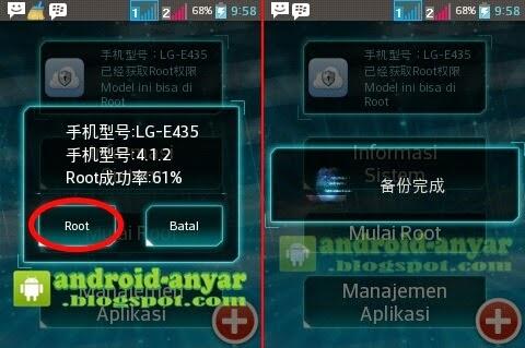 Cara mudah root LG L3 II E435 Tanpa Ganti KDZ File