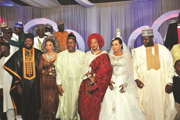Tozali the classy double wedding of former fct ministers sons tuesday 2 august 2016 junglespirit Gallery